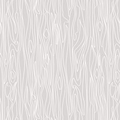 Woodgrain - Grey with White Grain - Small fabric by papercanoedesign on Spoonflower - custom fabric