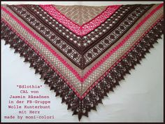 Ravelry: Project Gallery for Edlothia pattern by Jasmin Räsänen  CROCHET