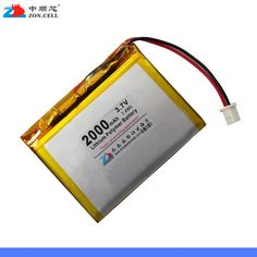 >> Click to Buy << In 445566 3.7V shipping 2000 Ma lithium polymer battery 553580404880506850 Rechargeable Li-ion Cell #Affiliate