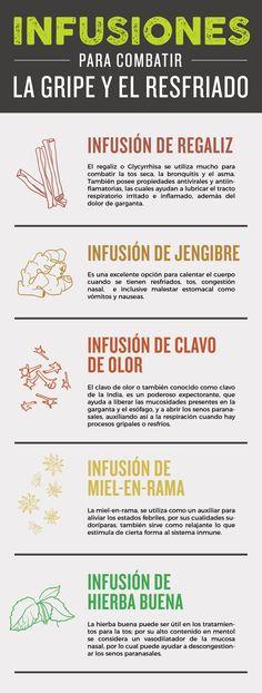 5 Tés E Infusiones Para Combatir La Gripe Y El Resfriado - La Guía de las Vitaminas
