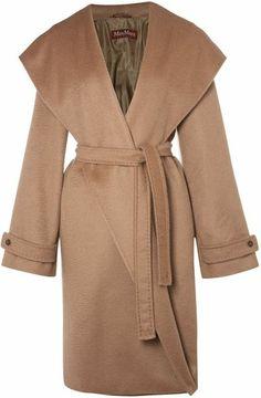 Max Mara Studio Brown Owear Coat Cashmere