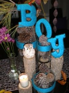Woodland Baby Shower Idea...Love It!!