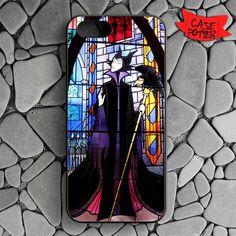 Maleficent And Diablo iPhone SE Black Case