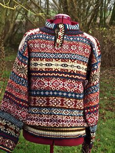 Ravelry: thisniftyknitter's my first Fair Isle pullover