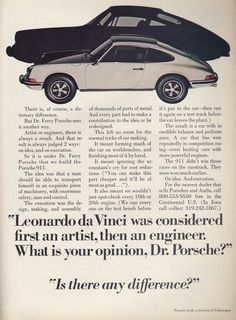 Such great copy. Endears you to the entire brand. I absolutely adore this! Porsche 911
