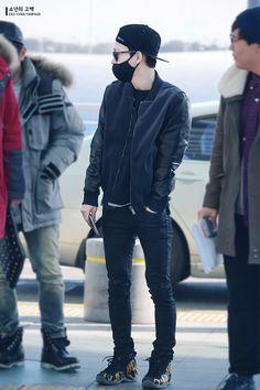 150107 EXO Chen (Kim Jongdae) | Incheon Airport to Shanghai