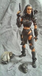 Custom Predator Hunter action figure is provided by Chris Hooton a.k.a Sabretooth.