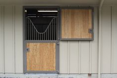 EquiGreen bamboo lumber horse stall installation - by Equine Facility Products
