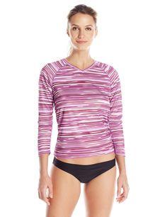 8eeb29fbb1b Kanu Surf Women s Odyssey Long Sleeve UPF 50+ Swim Shirt at Amazon Women s  Clothing store
