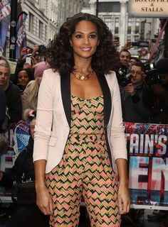 Alesha Dixon...love the hair!