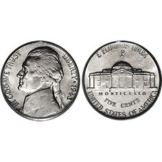 US Nickels (one regular roll of 40 coins) - Regular, American nickel coins. Sold by the roll of 40 get it here: http://www.wizardhq.com/servlet/the-15748/us-nickels-one-regular-roll-of-40-coins/Detail?source=pintrest