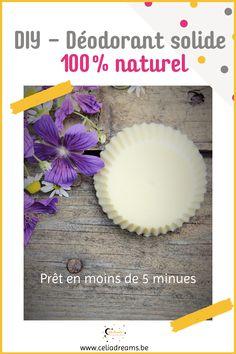 Comment faire un déodorant solide 100% naturel et efficace en moins de 5 minutes (DIY)? Testez ma recette zéro déchet, ultra rapide et facile à réaliser. A base de cire d'abeille, de beurre (huile) de coco et de bicarbonate de soude, il suffit d'ajouter les huiles essentielles de votre choix pour confectionner un palet au parfum agréable. Zéro déchet et bien moins toxique que ceux des grandes surfaces, vous ne pourrez plus vous passer de ce déo (bio) fait maison. #deo #deodorant #solide Deo Bio, Diy Beauté, Ajouter, Pie Dish, Deodorant, Blog, Permaculture, Lifestyle, Home Made