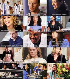 Seattle Grace Run-Down [need one with the Seattle Grace-Mercy West-ers]