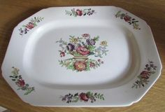 English Porcelain - Copeland Spode - Platter. England. Approximately 37 x 28 x 3.5cms high for sale in Durban (ID:218177293)
