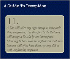 A Guide To Deception — This is more deduction though you could do this to deceive someone (think about it there are so many possibilities) Writing Help, Writing Prompts, Writing Tips, Essay Writing, Essay Prompts, Narrative Essay, Writing Resources, Guide To Manipulation, A Guide To Deduction
