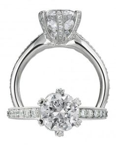 "See the ""Round Engagement Ring"" in our Engagement Rings in All Shapes and Sizes gallery"