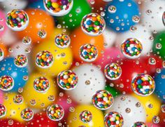water droplets photography