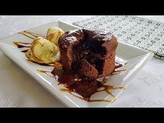 COULANT DE CHOCOLATE 3 INGREDIENTES - YouTube