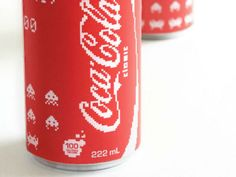 Coca-Cola (Space Invader Edition) | Packaging of the World: Creative Package Design Archive and Gallery