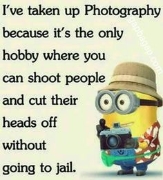Funny Minion Quotes For more funny quotes printed on posters, pillow covers and more visit www.differentype.com