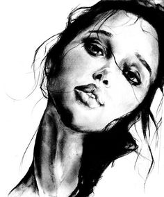 Charcoal drawing by Dessie Jackson