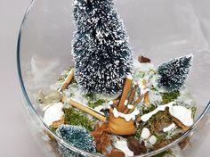 Tutorial fai da te: Come fare un Christmas Terrarium via DaWanda.com
