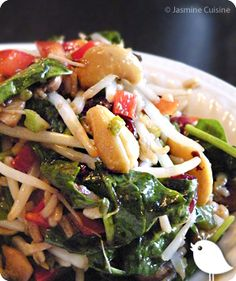Salade d'amour - Jasmine Cuisine Paleo Recipes, Cooking Recipes, Keto Chicken Salad, Cold Meals, Vegetable Salad, Light Recipes, Soup And Salad, Entrees, Healthy Eating