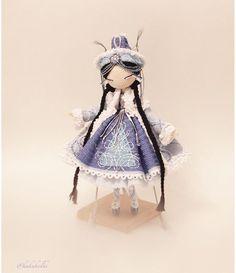 Amazingly detailed amigurumi doll by Kukukolki on instagram. (Inspiration).