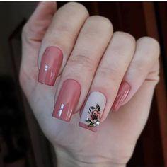 New bright nails for summer glitter 21 Ideas Pink Nail Art, Cool Nail Art, Pink Nails, Glitter Nails, My Nails, Rose Nails, Flower Nails, Fall Nail Designs, Acrylic Nail Designs