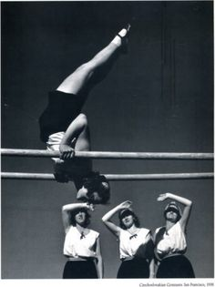 John Gutmann  Czech gymnasts; San Francisco 1939