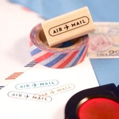 "Image of ""Air Mail"" Rubber Stamp"