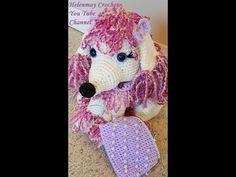 Crochet French Poodle Amigurumi Dog Part 1 of 2 DIY Tutorial