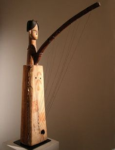harp FANG    West Africa             Late 19th century
