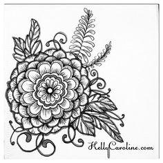 A black and white henna mandala from my sketchbook last night #tattoodesign #henna #hennas #ypsi #ypsilanti #detroit #michigan #michiganartist #kellycaroline #mehndi #mehndidesign #tattoo #tattoos #tattoodesigns #drawing #mandala #flower #flowers #ink #yoga #yogi #sketch_daily #artstagram #instartlovers #art_spotlight #justartspiration #arts_help #art_worldly #blxckmandalas