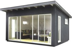 Amazing Shed Plans Abri de jardin en bois Panama - CASTORAMA Now You Can Build ANY Shed In A Weekend Even If You've Zero Woodworking Experience! Start building amazing sheds the easier way with a collection of shed plans! Studio Shed, Pool House, Cottage, House, Shed Plans, Backyard Office, Backyard Studio, Building A Container Home, Modern Shed