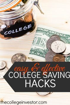 Easy Money Hacks to Save for College