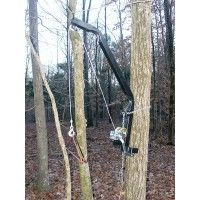 HOT ITEM ALRET!  Viking KwikHoist: Deer Hoist, Game Hoist  Easily and efficiently clean your game with the Viking KwikHoist™, a hoist that quickly attaches to almost any tree or pole. $89.95