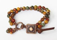 Red Creek and Copper (Customer Design) - Lima Beads