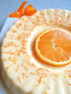 Downton Abbey Jelly Series: Bavarois à l'Orange The Modern Gelatina Orange Recipes, Cream Recipes, Sweet Recipes, Citrus Recipes, Yummy Recipes, Flan, Jello Recipes, Cake Recipes, Dessert Recipes