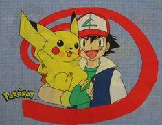 Set of 2 Pokemon pillowcases