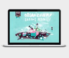 Music Delivery – website for the Music Agency / Graphic Designer: Anna Bil, Front-end developer: Marek Mrowiec / 2012/13