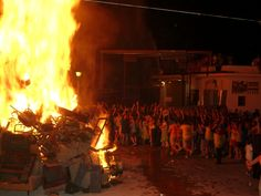 Nit dels focs #xabia #javea #costablanca #fiestas