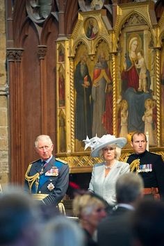 Royal Family Around the World: The Prince Of Wales & Duchess Of Cornwall Attend B...