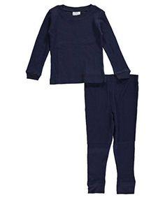 America Hero Little Boys' Toddler 2-Piece Thermal Underwear Set