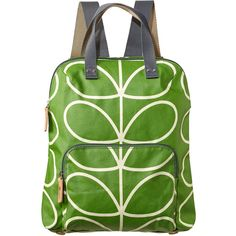 73174a895f24 Orla Kiely Giant Linear Stem Backpack Tote (£129) ❤ liked on Polyvore Orla