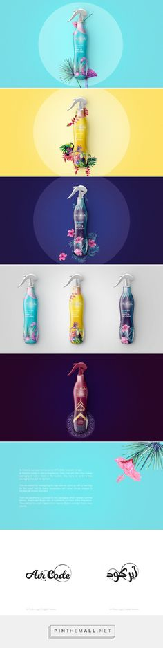 Air Code Freshener - Packaging of the World - Creative Package Design Gallery - http://www.packagingoftheworld.com/2017/01/air-code.html