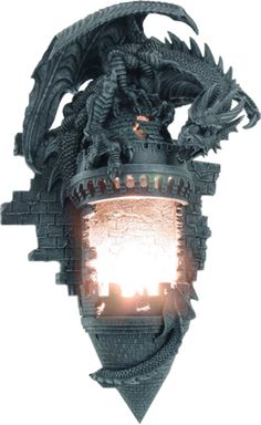 Dragon Castle Sconce Wall Light
