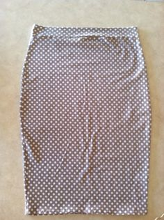 GRAYSIE pencil skirt woman's medium by handmaidends on Etsy, $15.00