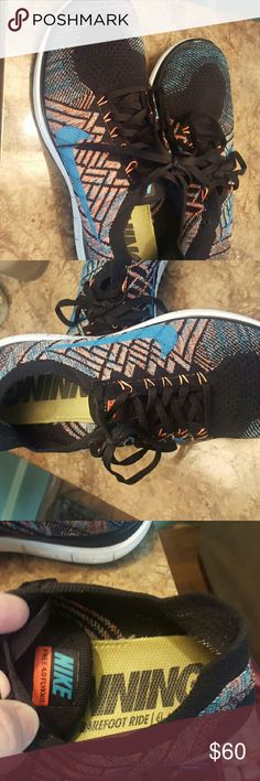 Nike Flyknit athletic shoes men's 10/women's 11.5 Excellent condition flyknit running shoes Nike Shoes Sneakers