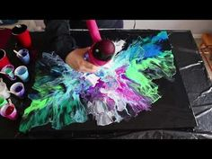 Fluid Painting with a Hair Dryer | Breaching Silence - YouTube